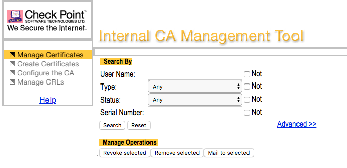 Vulnerabilities in Checkpoint ICA Management Tool