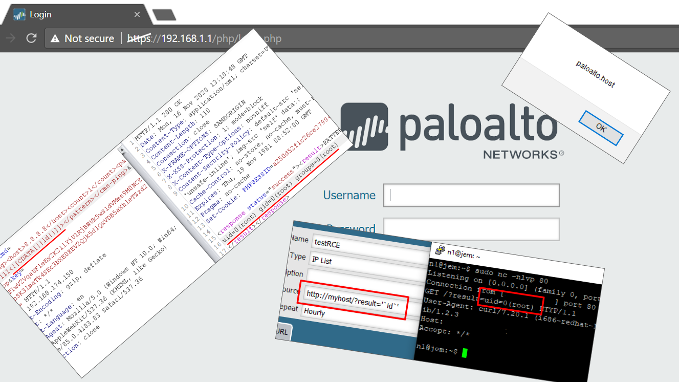 Swarm of Palo Alto PAN-OS vulnerabilities