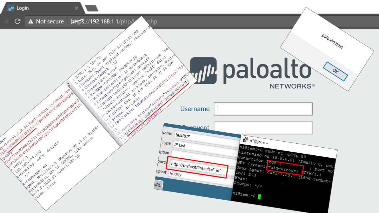 Swarm of Palo Alto PAN-OS vulnerabilities